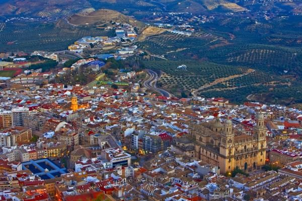 Jaen City Andalucia Spain   Photo, Information