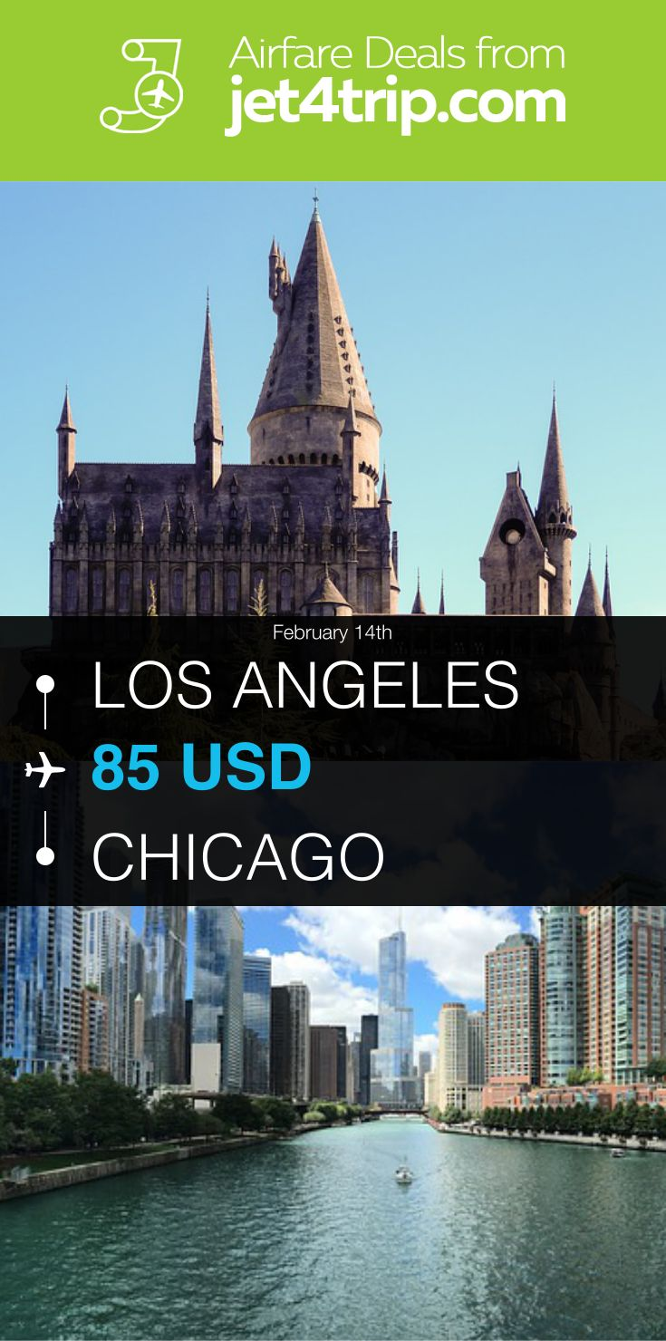 Flight from Los Angeles to Chicago for $85 by United Airlines #travel #ticket #deals #flight #LAX #CHI #Los Angeles #Chicago #UA #United Airlines