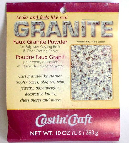 Our faux granite powder looks like real granite. Everyone will be fooled! These…
