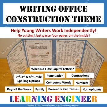 Writing offices are an excellent way to help your students become more productive and confident writers! • Students are more focused and less distracted when using a writing office. • Improves quality of writing. • Reduces the need for students to ask questions of their