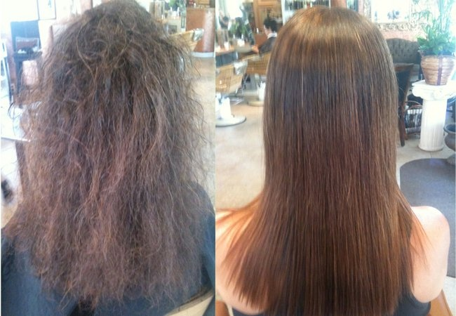 The new pravana smooth out system is amazing, as well as the redken urban smooth treatment! So silky...