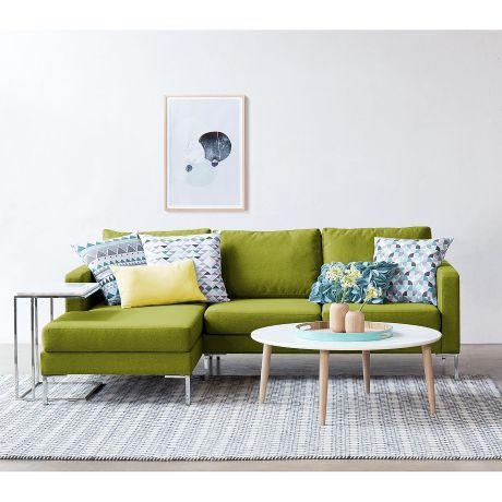 Sofa In Trendfarbe Greenery | Home24 AG
