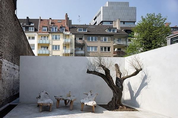 loft Dusseldorf. #minimal #gardens