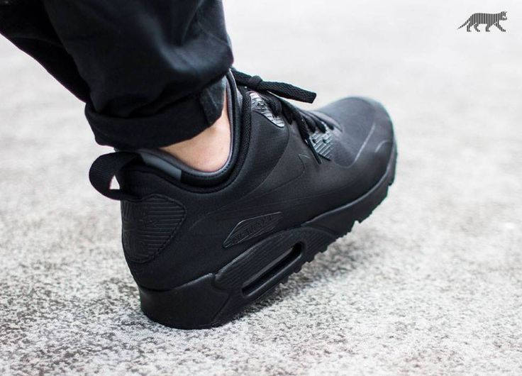 d557c54ac1 JUST LIFE STYLE™®: Nike Air Max 90 Mid Winter 'Black / Black . ...