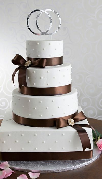 15 Must See Homemade Wedding Cakes Pins