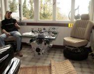 Fotel i stolik