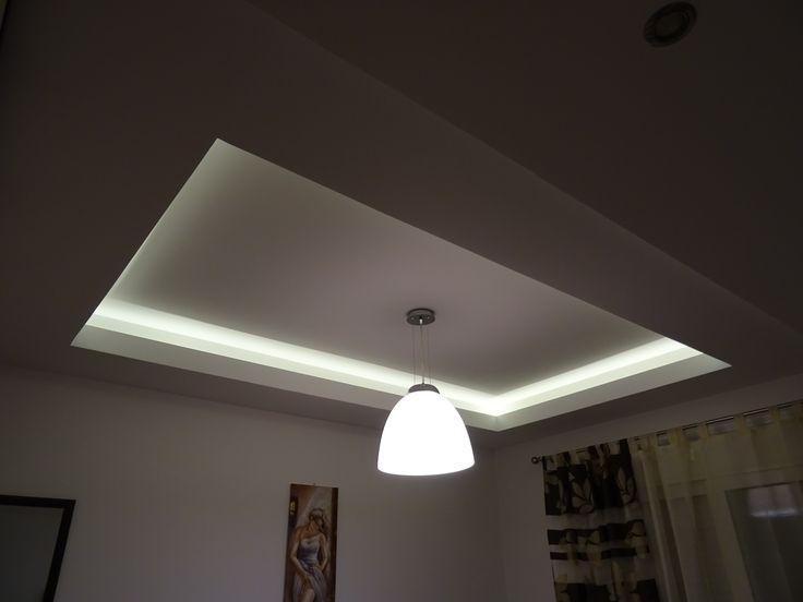 Γυψοσανίδα με κρυφό φωτισμό 💡 για υπνοδωμάτιο
