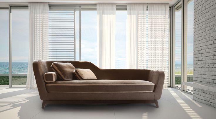 Jeremie, #sofa and #sofabed, #design Eric Bertes.