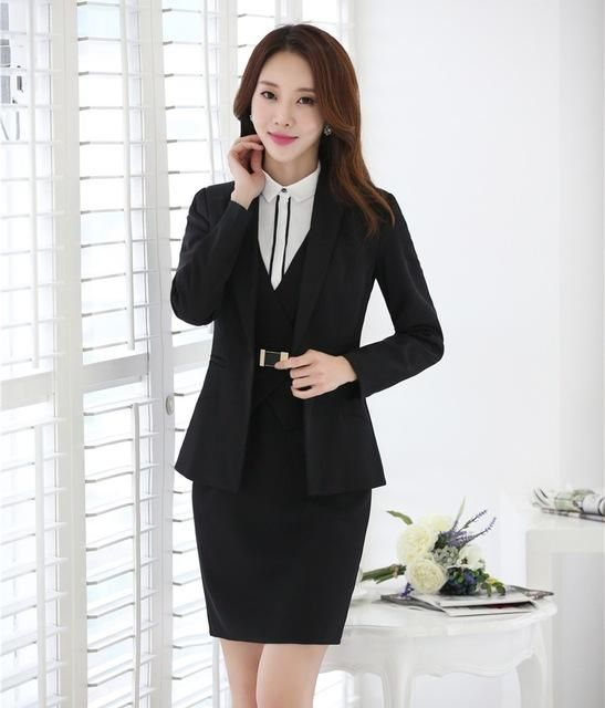 27870b169786 AidenRoy Formal Dress Suits for Women Business Suits Blazer and Jacket Sets Ladies  Office Uniforms Styles suit dress