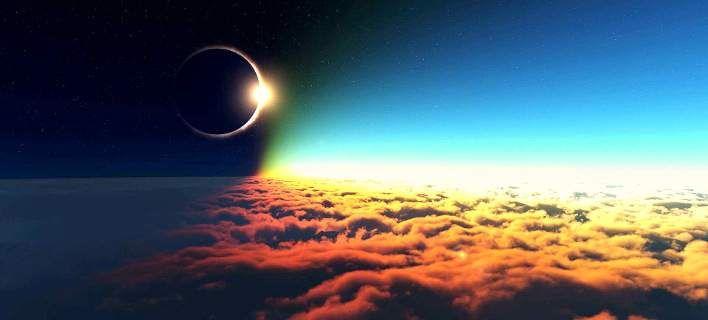 Ολική έκλειψη Ηλίου αύριο: Ποιοι θα είναι οι τυχεροί που θα τη δουν (εικόνες & βίντεο)