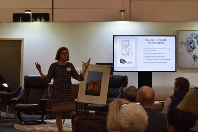 Such an honour to be present at the HIA Home show about Future Proofing your Home. It was also wonderful to have such keen interest in my book, which officially launches on 3rd May. If you'd like to attend, and receive a copy of my book 'Your Forever Home', get your ticket now #whitepebbleinteriors #yourforeverhome #futureproofing #homedesign #HIAhomeshow #interiordesign #newhomes #renovations