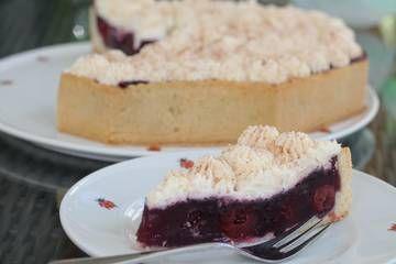 Dornfelder Kirsch - Kuchen