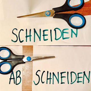 Quero aprender alemão - Deutsch als Fremdsprache: Verbos com o prefixo ab-
