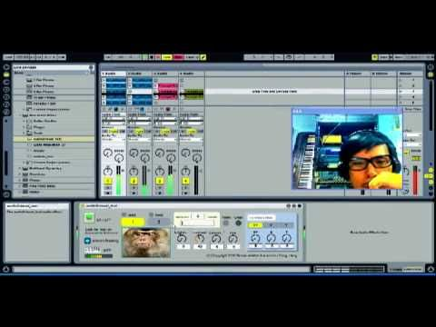 Ableton Live / Max for Live - audio2visual_test