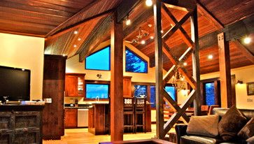 Rustic Cathedral Ceilings Design Ideas, Pictures, Remodel, and Decor - page 6
