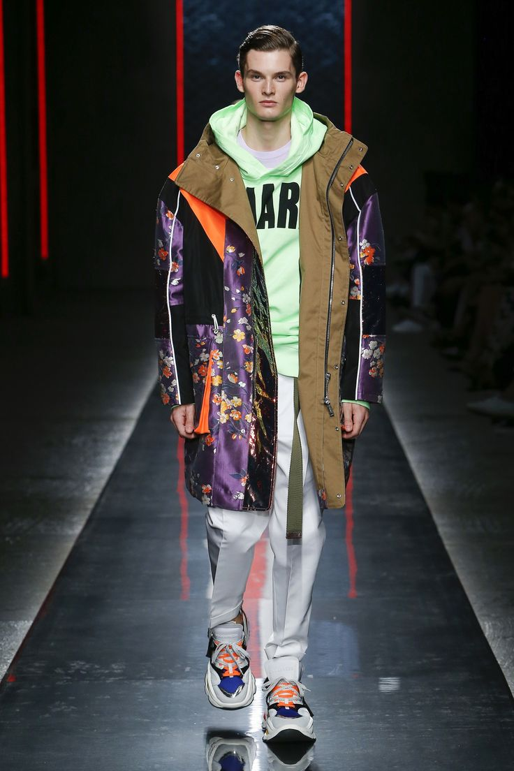Dsquared2 SpringSummer 2019 Collection Offers '80s Strong Sleeves foto