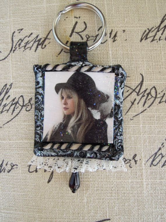 stevie+nicks+list+of+songs | STEVIE NICKS, In Your Dreams, Handmade Keychain Embellished with Lace ...