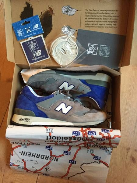 The Good Will Out x New Balance 577 – Autobahn