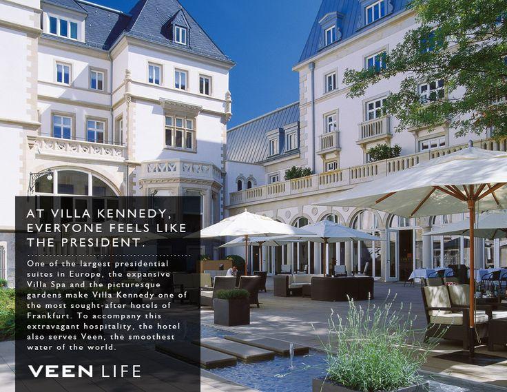 Cute Stay presidential Feel presidential At Villa Kennedy VeenWaters villakennedy Frankfurt