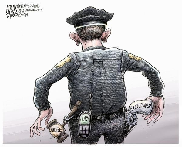 Image result for satire cartoons about corrupt government cops judges