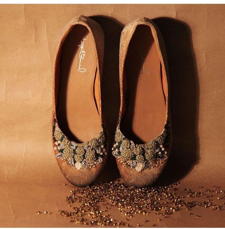 Dyuti Bansal # fusion foot wear # hand crafted bellys