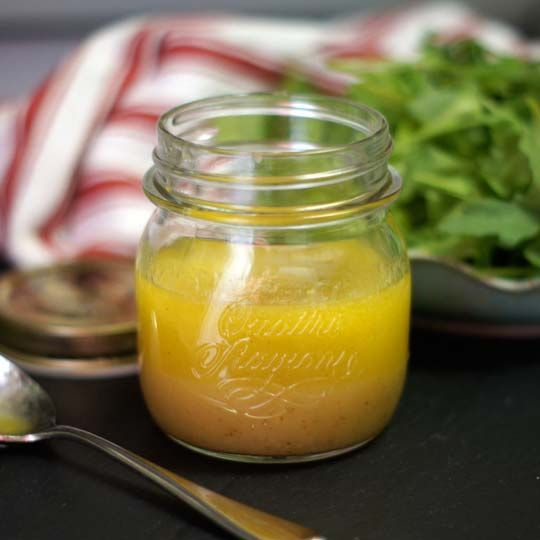Raw Apple Cider Vinaigrette. This dressing is always a hit, and you don't even need a blender to make it!