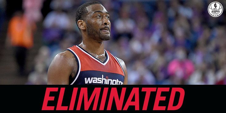 With their loss to Detroit Pistons, Washington Wizards are officially eliminated from the playoffs. 4/8/2016