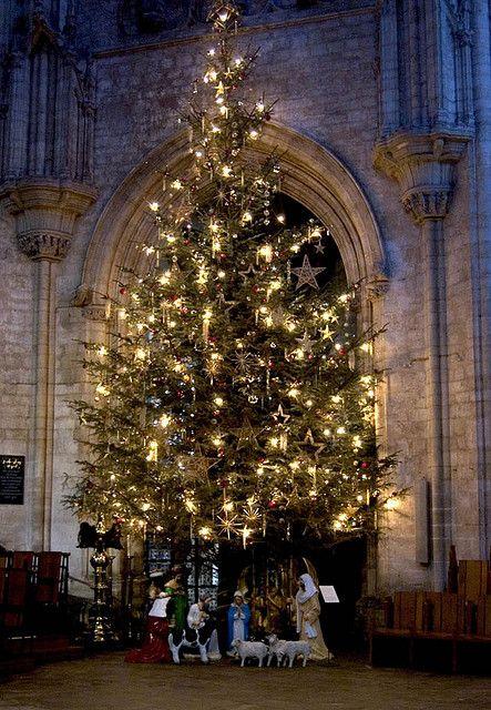 Christmas , Ely, Cambridgeshire, England