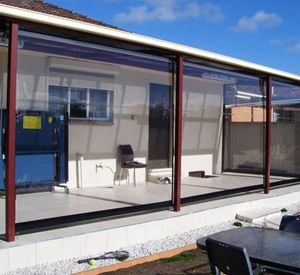 Clear PVC Blinds | Tinted Blinds | External Blinds Melbourne