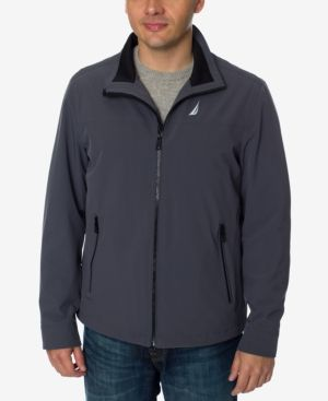 Nautica Men's Big & Tall Stretch Golf Jacket - Gray 4XT