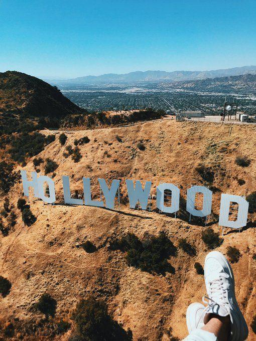 das Hollywood-Zeichen zu sehen ist auf jeden Fall in diesem Sommer b …