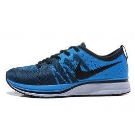 Nike Flyknit Trainer+ Unisex Lysblå Svart | Nike billige sko | kjøp Nike sko på nett | Nike online sko | ovostore.com