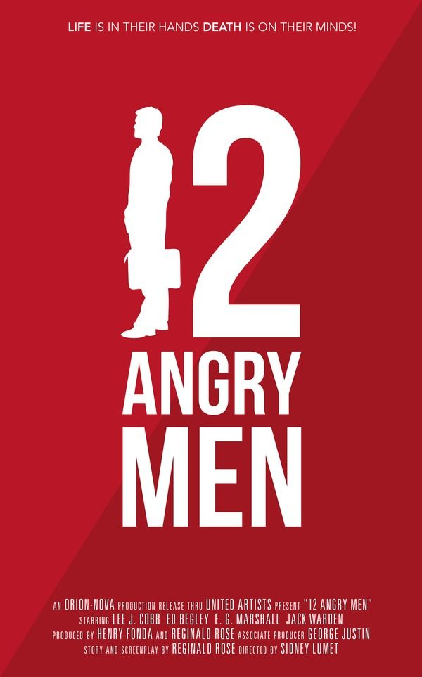 12 angry men movie of 1957 Complete plot summary of 12 angry men 12 angry men (1957) directed by sidney we know from earlier in the movie that this guy has it in for the.