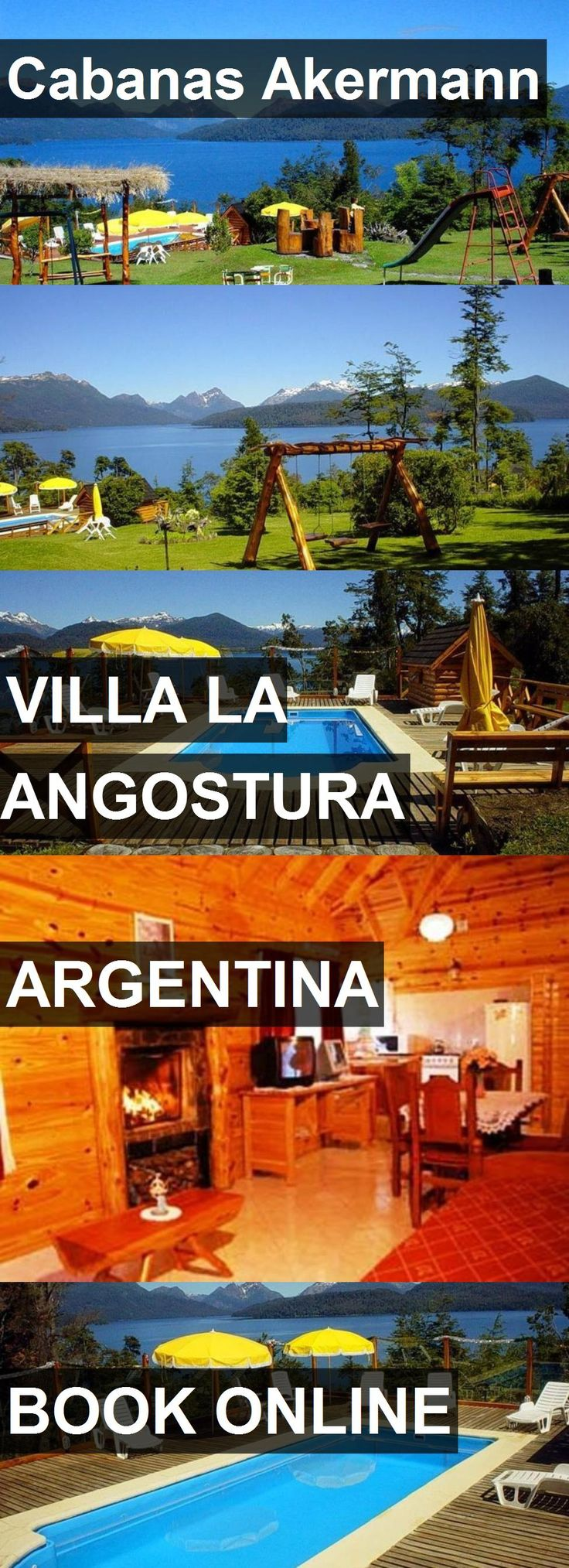 Hotel Cabanas Akermann in Villa la Angostura, Argentina. For more information, photos, reviews and best prices please follow the link. #Argentina #VillalaAngostura #CabanasAkermann #hotel #travel #vacation