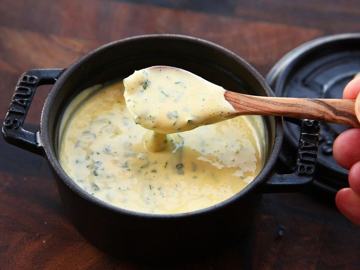 Fool-Proof Béarnaise sauce courtesy of Serious Eats. It's astonishing how much trouble this recipe can save (as long as you have an immersion blender).