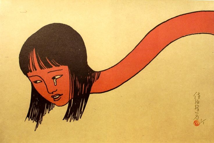 Toshio Saeki from http://narwhalcontemporary.com/exhibitions/past-exhibitions/