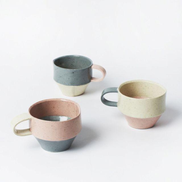 : Color, Ceramics Cups, Dawn Vachon, Ceramic Cups, Design Files, Ceramics Mugs, Vachon Ceramics, Products, Dawnvachon