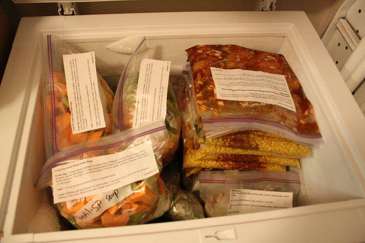 Healthy Slow Cooker/Crock Pot Meals to Freeze II- great site of healthy crock pot meals