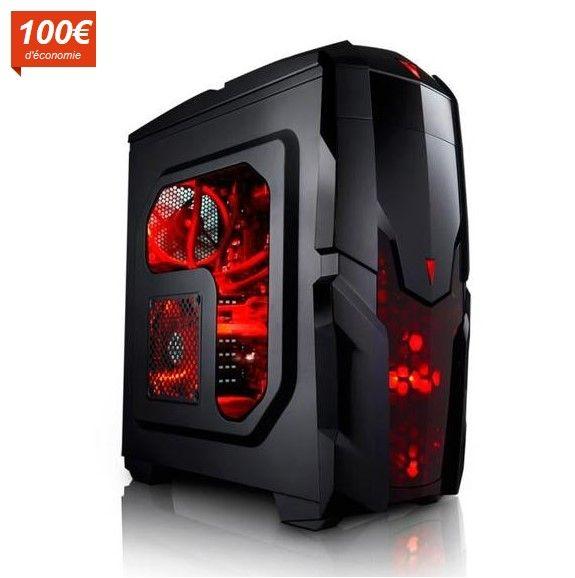 Megaport PC Gamer 6-Core AMD FX-6300 6x 3,50 GHz pas cher prix Ordinateur de bureau Cdiscount 549.00 € TTC au lieu de 649 €