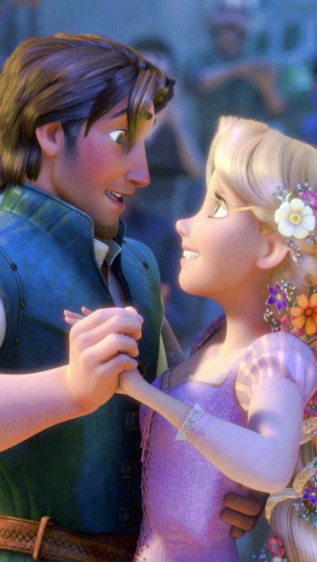 "Kingdom Dance from Tangled - Flynn is like ""oh! Hello there!"" And Rapunzel is like ""Hello!"""