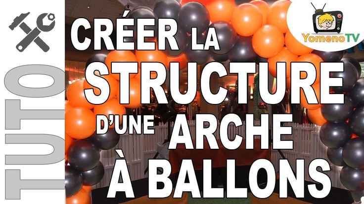 [TUTO] #002 - Créer la structure d'une arche à ballons