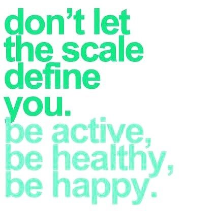 The scale does not get to define you! Because despite those days when the scale shows no change you have to believe that all the healthy choices and changes you've made matter. You have to believe that every run squat and downward dog matters. You have to believe that no matter what a piece of metal says or doesn't say that the healthy choices you continue make are going to continue to matter. That is what defines you. #LizJosefsberg #WordsOfLizdom