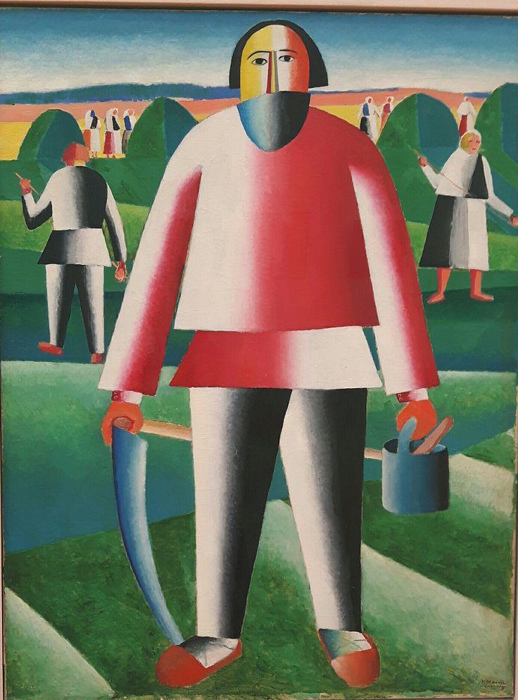 Fienagione. 1928-29. Tretjakov Gallery