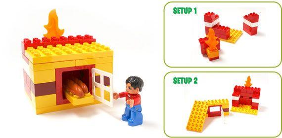 Lego Duplo вызов: играем, и выпекать - Наша семья Мир