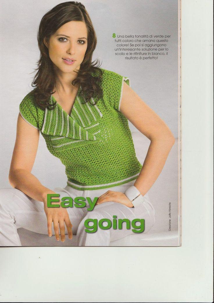 maglietta  in cotone istruzioni su richiesta ஜ Magie e passioni by Niky ஜ: Sportiva ed elegante alo stesso tempo e ideale per...