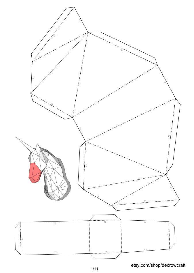 Шаблоны для паперкрафта