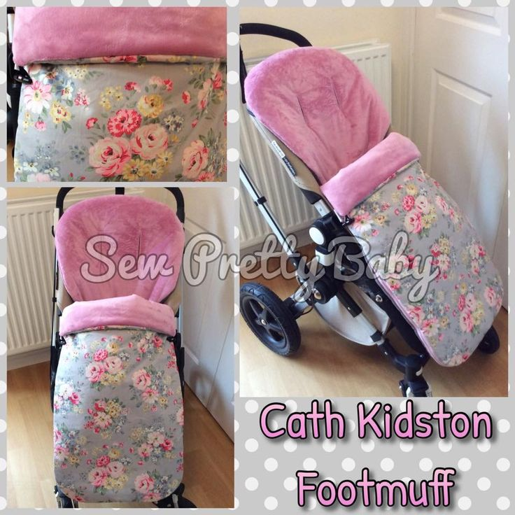 Footmuff made in cath kidston spring bouquet