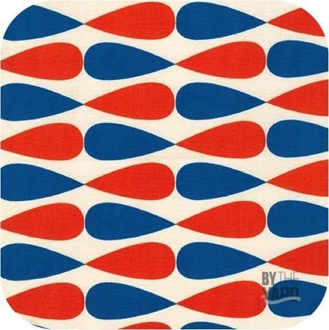 Geo Pop Canvas 2 - Drops in Bright