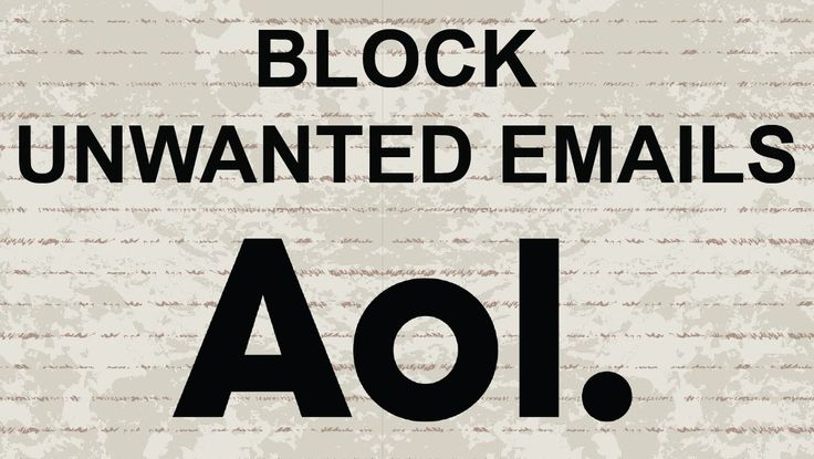 How to block Spam (unwanted emails) in AOL Mail#AOL #AOLmail #mail #email #video #youtube #tutorial #howto #tips
