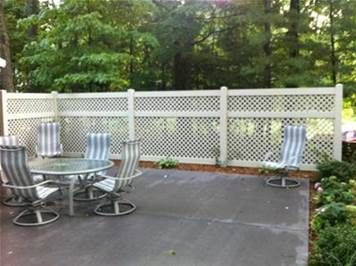 Image result for Cheap Lattice Fence Ideas